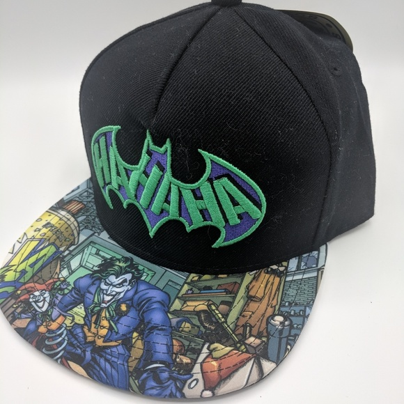 caff7f0e DC Comics Accessories | Nwt Dc Comic Batman Sublimated Bill Snapback ...